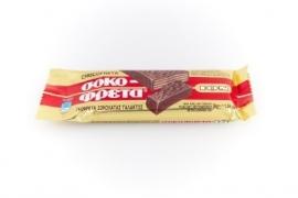 Griekse chocoladewafel melk, 38 gram