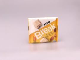 Ion break witte chocolade, amandel, krenten en hazelnoot 85 gr.