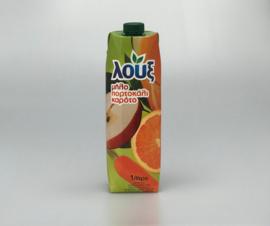 Loux Gimos Nectar (appel, sinaasappel en wortel) 1 liter