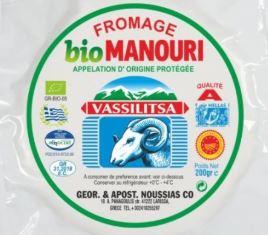 Manouri Vassilitsa Biologisch 200 gr.