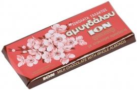 Ion melkchocolade met amandel, 100 gram