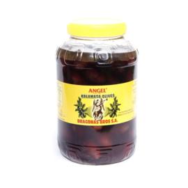 Dragonas Kalamata olijven jumbo 2kg pet zonder pit