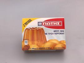 Gelei pudding sinaasappel 2 x 100 gr.