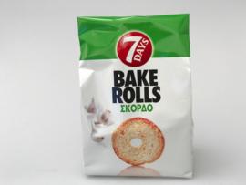 Bake rolls knoflook  7 days 160 gram