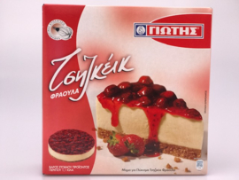 Jotis cheesecake Aardbei