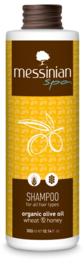 Messinian Spa shampoo honing tarwe, 300ml