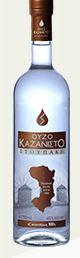 Ouzo Kazanisto 0.75 liter