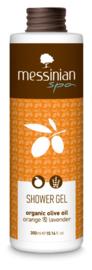 Messinian Spa Douchegel sinaasappel lavendel, 300 ml