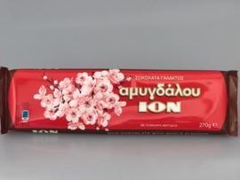 Ion melkchocolade met  amandel, 270 gram