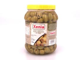 Groene olijven mammoet zonder pit 1 kilo Xenia