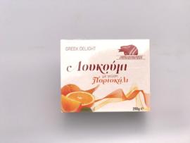 Loukoumi sinaasappel 250 gram
