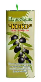 Pomage olijfolie blik 5 liter