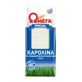 Karolina rijst, 500 gram Omega