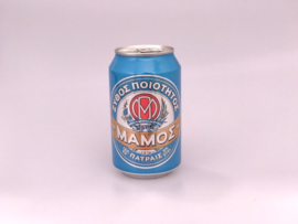Mamos blikje bier