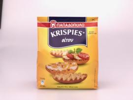 Krispies geel tarwe Papadopoulos 200 gram