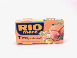 Rio mare tonijn in olijfolie set van 2 blikjes 160 gram