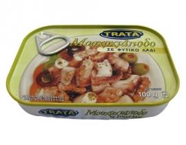 Trata octopus, 100 gram Pikant