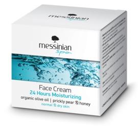 Gezicht crème 24uur verzorging normale en droge huid