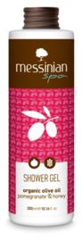 Messinian douchegel granaatappel honing, 300 ml