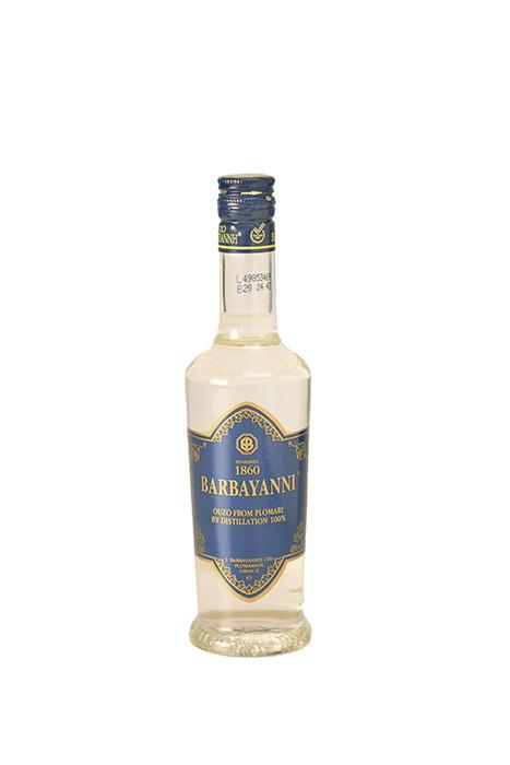 Ouzo Barbayani blauw 0.2 liter