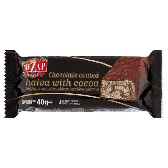 Makedonikos Halva Mezap chocolade snack, 40 gram