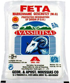 Feta Vassilitsa 200 gr. vacuum