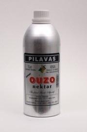 Ouzo Nektar Pilavas aluminium 1 ltr. 40%