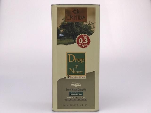 Critida Extra Virgin olijfolie blik 5 liter