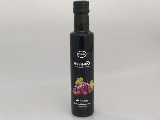 Petimezi druivensuiker vloeibaar 250 ml. Pan