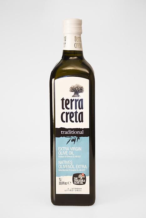 Terra Kreta Extra Virgin Olijfolie 1 liter