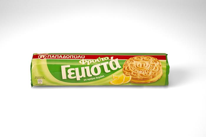 Biskota Papadopoulos Gemista Lemoni 200 gr.