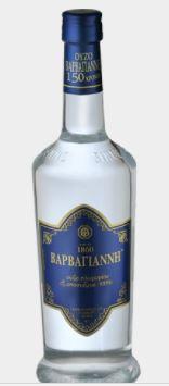 Ouzo Barbayani blauw 0.7 liter