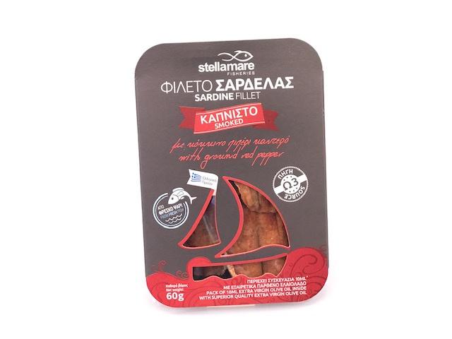 Sardientjes filet gerookt pikant 60 gram