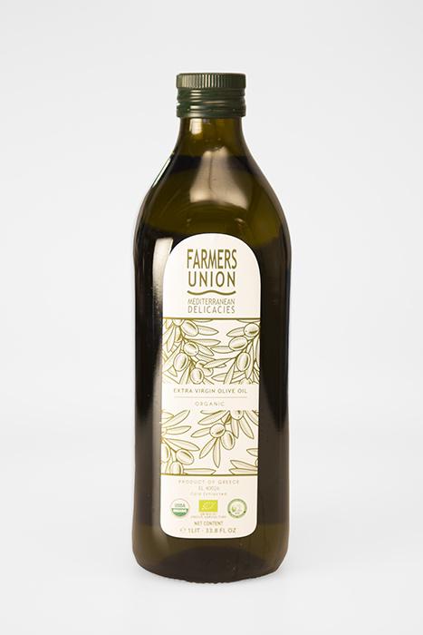 Extra Virgin Biologische Olijfolie 1 liter Farmers Union