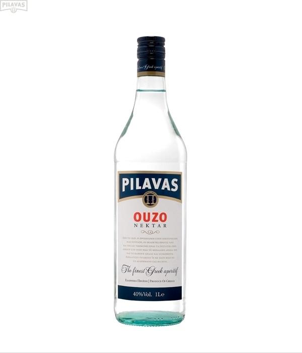 Ouzo Pilavas 40%, 1 liter