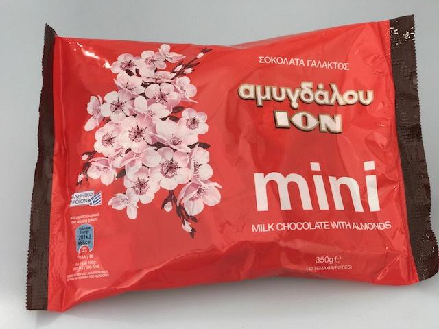 ION amandel mini chocolade 400gr. 40 stuks