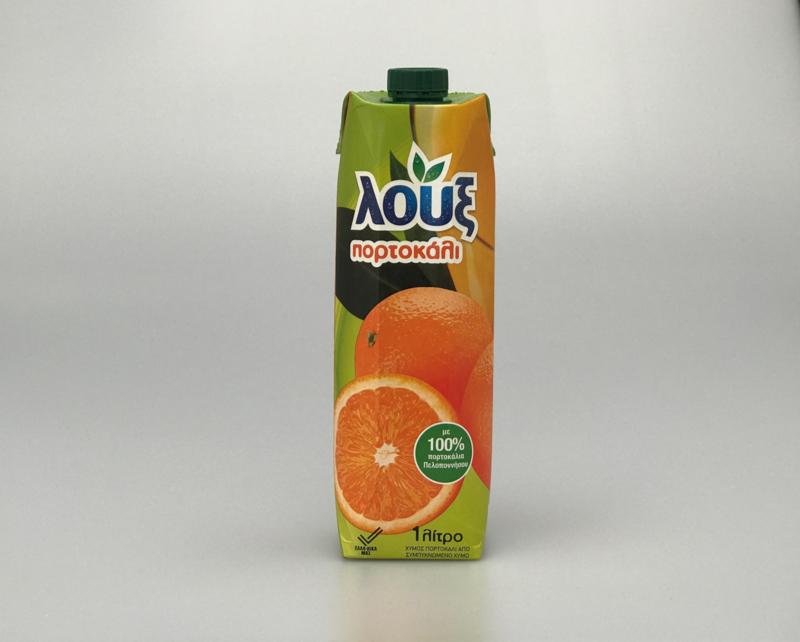 Loux Gimos Portokali ( Sinasappelsap ) 1 liter