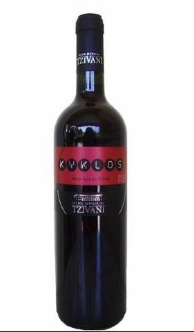 Tzivani Kyklos red selection 750ml