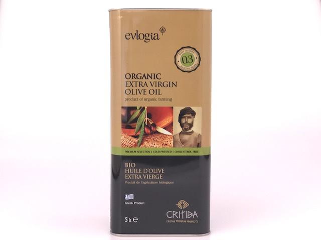 Critida BIO Extra Virgin olijfolie blik 5 liter