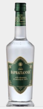 Ouzo Barbayani groen 0.7 liter