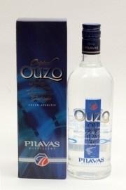 Ouzo Pilavas Selection Blauw 40% 700ml