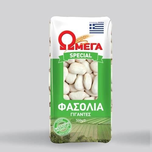 Fasolia Gigades, 500 gram Omega Prespon