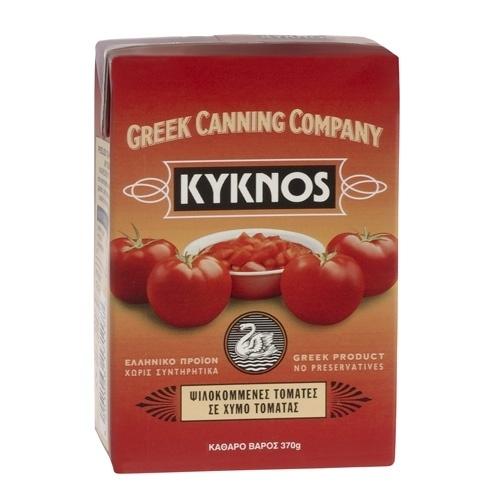 Kyknos tomatenblokjes, 370 gram