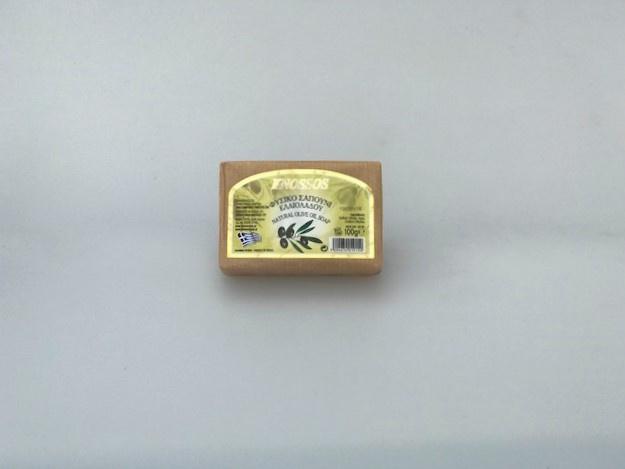 Knossos naturel olijfoliezeep 100 gram