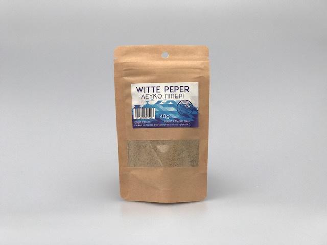 Witte peper gemalen 40 gr. Thalassa