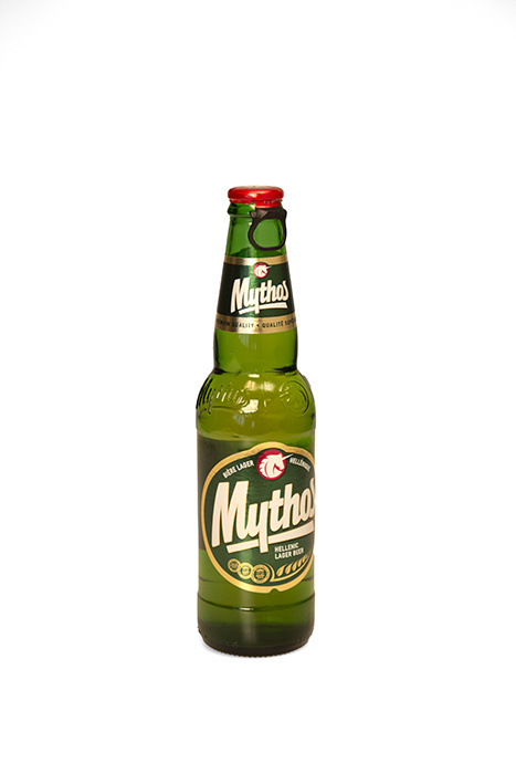 Mythos bier fles (per 6 stuks), 330ml