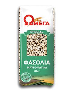 Fasolia mavromatika, 500 gram Omega
