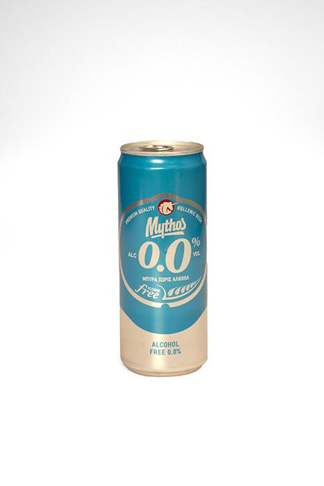 Mythos bier 0,0% 4 blikjes 330 ml