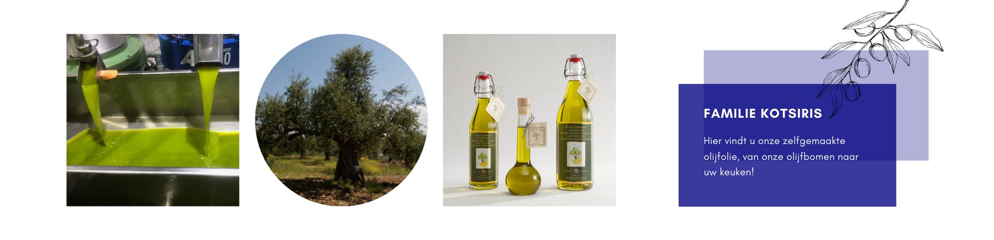 Onze eigen olijfolie