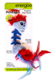 PETSTAGES FEATHER FISH BONE